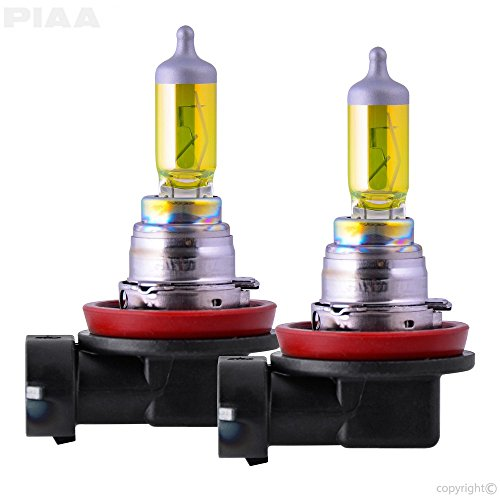 PIAA 22-13416 Solar Yellow H16 Light Bulb , 2 Pack