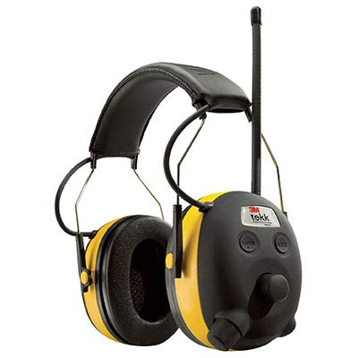 The ROP Shop PELTOR WORKTUNES Digital AM FM MP3 Radio Headphones Hearing Protection Ear Muffs