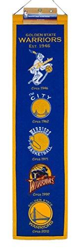 [NBA Golden State Warriors Heritage Banner] (Logo Heritage Banner)