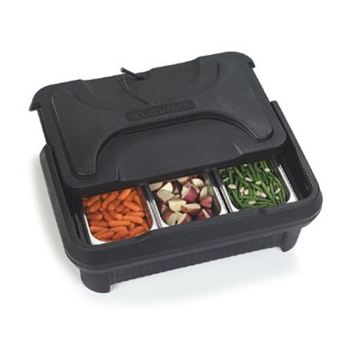 - Carlisle XT160003 Cateraide Insulated Food Pan Carrier, Top Loading, 6