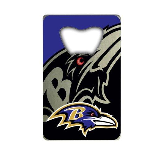 (NFL Baltimore Ravens Credit Card Style Bottle Opener)
