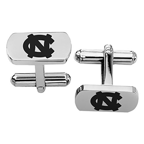 University of North Carolina Tar Heels Rectangular Shape Stainless Steel -