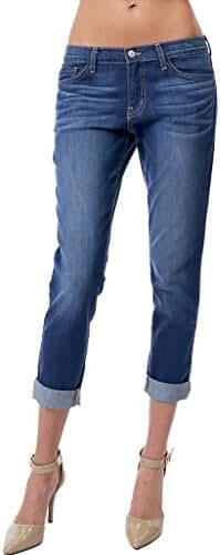 Flying Monkey Slouchy 5 Pocket Medium Washed Boyfriend Jeans