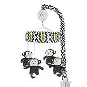 Baby Safari Monkey Musical Mobile