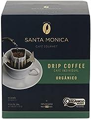 Drip Coffee Organico Display Cafe Santa Monica com 10 Unidades