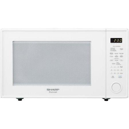white 1200 watt microwave - 9
