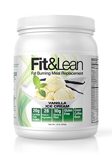 Fit & Lean Fat Burning Meal Replacement, Vanilla, 1 (Meal Replacement Diets)