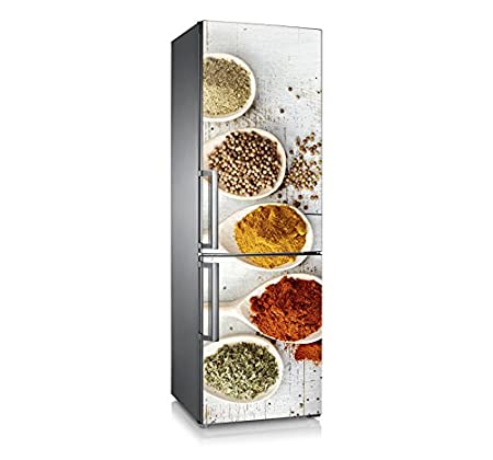 Vinilo para nevera | Stickers Fridge | Pegatina Frigo | Spices ...