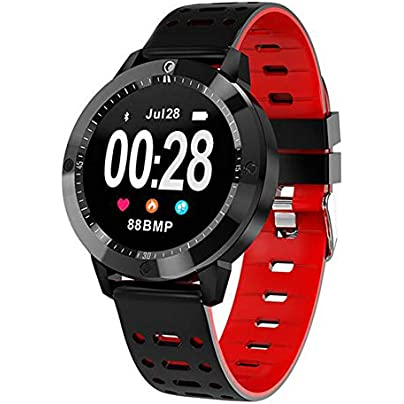 CHENG Fitness Tracker Heart Rate Monitor Activity Tracker Smart Watch Pedometer Waterproof Wristband with Sleep Monitor Estimated Price £55.71 -