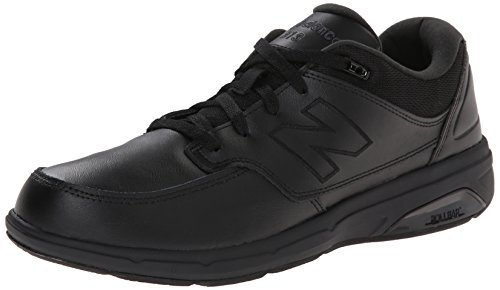 New Balance Men's MW813 Walking Shoe-M Walking Shoe, Black, 10.5 2E US