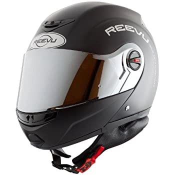 Reevu Fsx1 Rearview Modular Helmet Medium