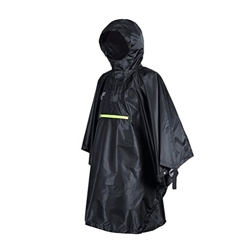 Para Impermeable Chaqueta Viewhuge Hombre Negro xWwqFXnTA8