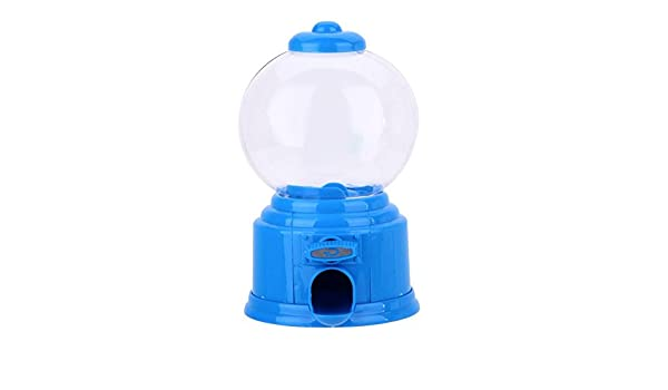 Cute Sweets Mini Candy Machine Bubble Gumball Dispenser Coin Bank Kids Toy YS