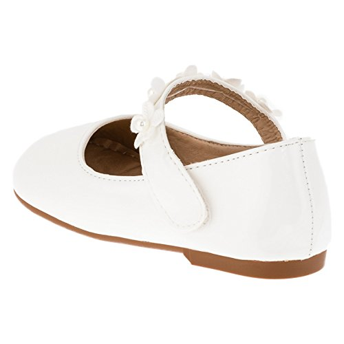 Max Shoes - Bailarinas de Material Sintético para niña #269ws Weiß