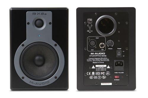 Two Way Bi Amped - M-Audio BX5a 5-inch BiAmplified Studio Monitor Speakers