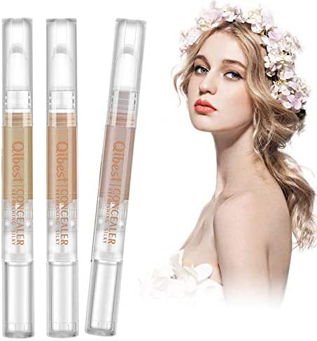 Concealer Cream,Makeup concealer,Skin Lightening Whitening Cream,Waterproof Smooth Flawless Finish Creamy Concealer ,Suitable for s eye circles, striated lines, scars, acne, spots