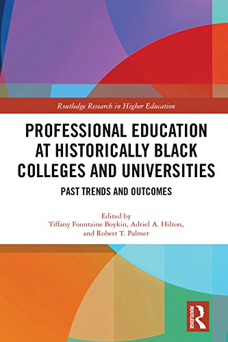 Search : Professional Education at Historically Black Colleges and Universities: Past Trends and Future Outcomes (Routledge Research in Higher Education)