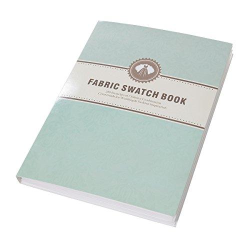 (Alicepub Fabric Swatch Book for Fashion Bridesmaid Dresses Evening Gown Chiffon )