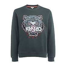Kenzo Men's Kenzo Tiger Green Sweater