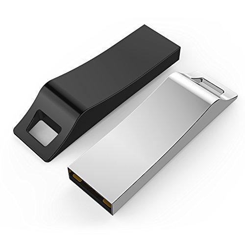 32GB USB 2.0 Flash Memory Drive Stick Silver - 9