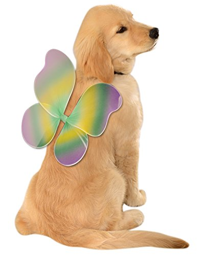 Rubie's Mardi Gras Fairy Wings for Your Pet, Small/Medium, -