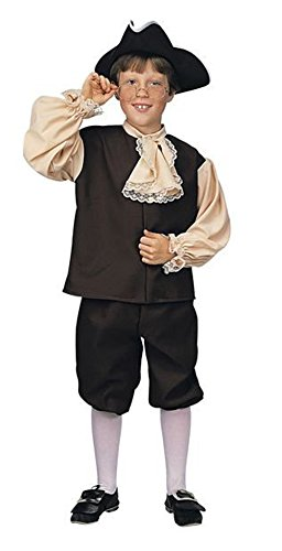 Rubie's Child's Colonial Boy Costume, (Colonial Boy Child Costume)