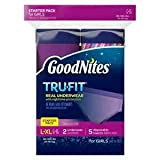 GoodNites TRU-FIT Real Underwear Starter Pack for Girls - L/XL, Model: , Baby & Child Shop
