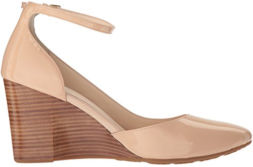 Nude Strap Haan Ankle 85MM Women Wedge Patent Sadie Platform Cole 8aZO4