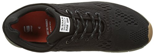 G Star Grount Mesh, Zapatillas para Hombre Negro (Black 990)