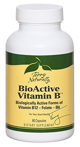 Terry Naturally Bio-Active Vitamin B - 60 Capsules