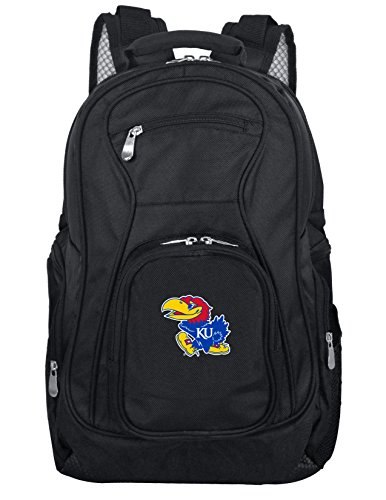Denco NCAA Kansas Jayhawks Voyager Laptop Backpack, 19-inches (Kansas Jayhawks Duffle Bag)