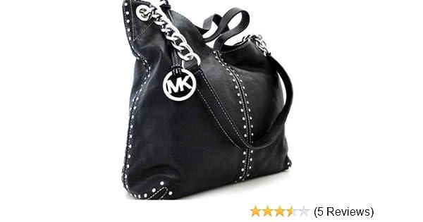 5d364fb9805e79 Amazon.com: Michael Kors Black Leather Uptown Astor Large Satchel Tote  Handbag: Shoes