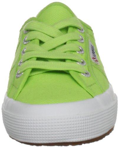 Superga 2750 Jcot Classic, Zapatillas Infantil Verde (560 Acid Green)