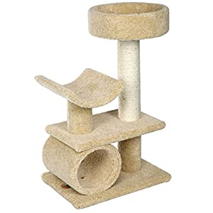 Go Pet Club LP-833 Premium Carpeted Cat Tree Furniture
