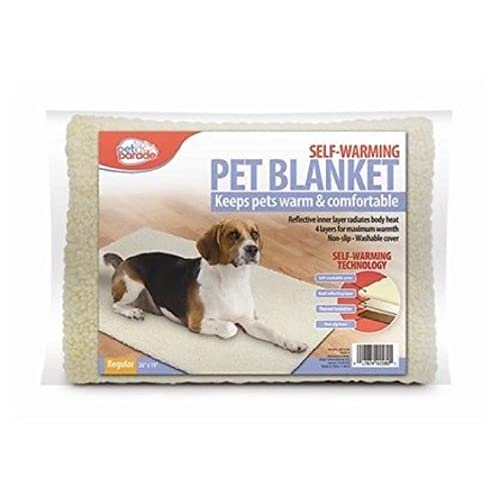 Self Warming Pet Blanket, Mat ,Bed Kennel Liner Washable Small To Medium