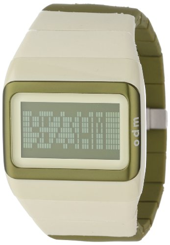odm-unisex-sdd99b-9-link-series-white-and-green-programmable-digital-watch