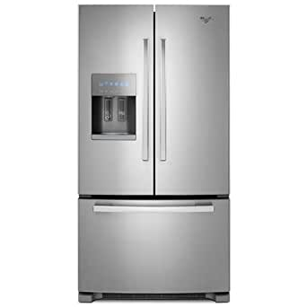 Whirlpool GI6FARXXY Gold 25.5 Cu. Ft. Stainless Steel French Door Refrigerator - Energy Star