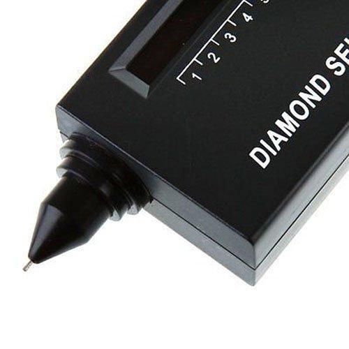 Worldoor Jeweler Diamond Tool Kit Portable Pen Hardness Identification Mini Tester Black//Portable Diamond Tester Illuminated Loupe Jeweler Jewelry Tool Kit