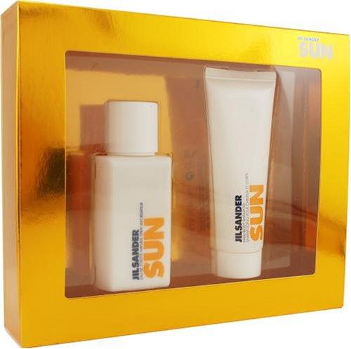 Jil Sander Sun By Jil Sander For Women. Set-edt Spray 2.5-Ounce & Hair And Body Shampoo 2.5-Ounce