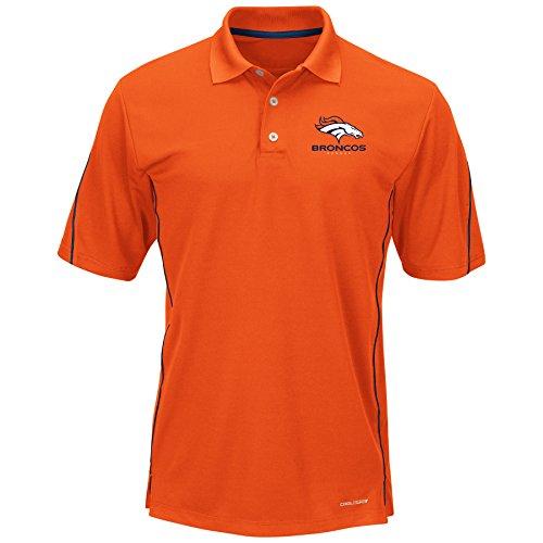 (NFL Denver Broncos Unisex Poly Fleece Track Jacket, Orange, 2X/Tall)