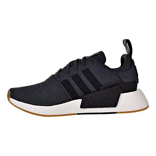 adidas Herren NMD Running Sneaker Dienstprogramm Schwarz / Weiß / Gum