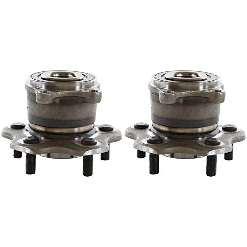 Prime Choice Auto Parts HB612390PR 2 PREMIUM REAR WHEEL HUB BEARING ASSEMBLY UNITS PAIR/SET FOR LEFT AND RIGHT (Wheel Premium Rear Bearings)