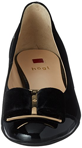 Women's Toe Schwarz 0100 0100 Black HÖGL 10 3084 Closed 4 Heels p4qzPd