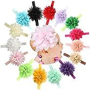 Baby Girls Headbands Newborn Infant Toddler Hairbands Turban Knotted Bows Children Hair Accessories