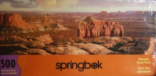 - Canyonlands National Park Utah Panoramic 500 Piece Puzzle by Springbok