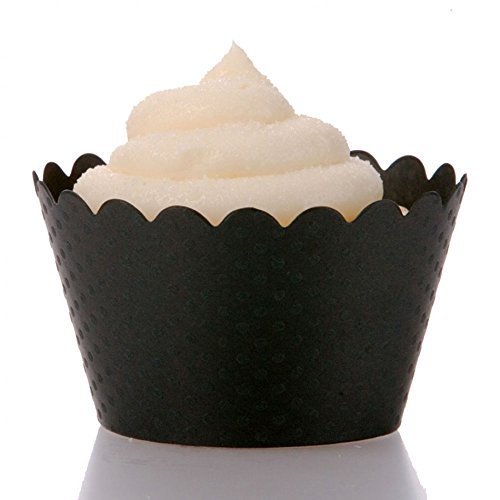 Dress My Cupcake Black Wrappers