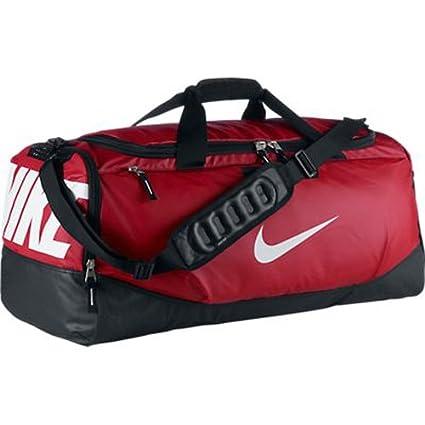 ... Amazon com New Nike Team Training Max Air Large Duffel Bag Gym Red