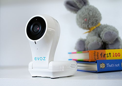 Evoz Vision Wi-Fi Video Baby Monitor with Night Vision | Unlimited Range | Cry Detection | Talk Back | HD Smart Camera | Evoz Baby Monitoring App for iOS and Android by Evoz (Image #6)