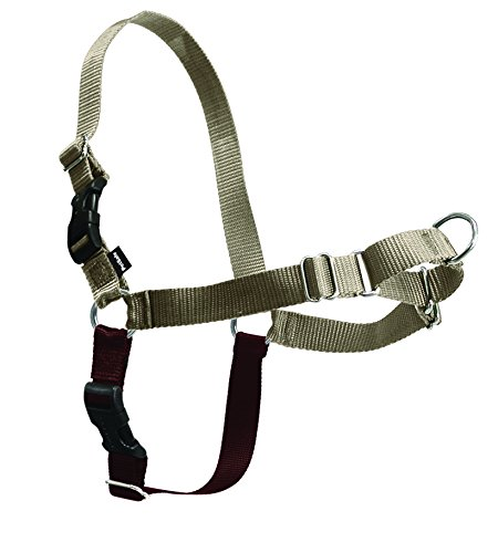 PetSafe Easy Walk Harness,  Large, Fawn & Brown for (Large Fawn)
