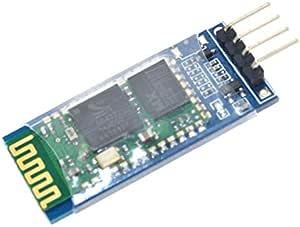 وحدة إرسال واستقبال لاسلكية تعمل بتقنية البلوتوث وتحول من النمط (تي تي إل) / (آر إس 232) إلى نمط الــ (يو آرت)